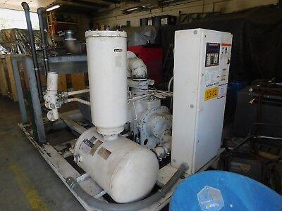 Gardner Denver 100hp Rotary Screw Air Compressor 125 Psi