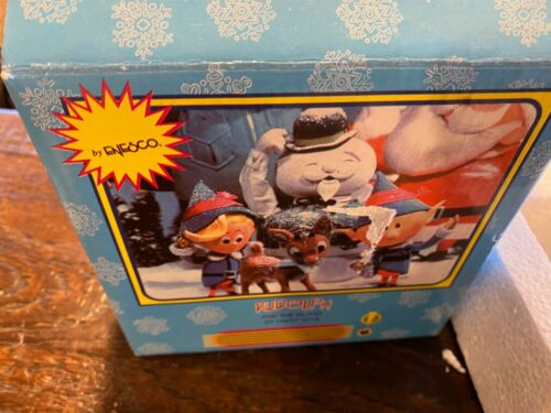 ENESCO RUDOLPH AND THE ISLAND OF MISFIT TOYS FRIENDSHIP IS PURE GOLD YUKON W/BOX