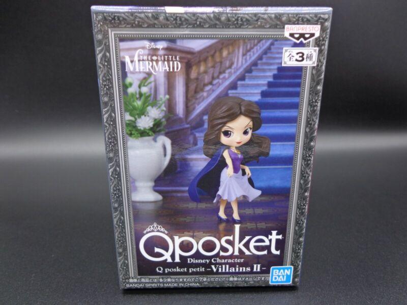 Banpresto Q Posket Disney Petit Figure Villains II Vanessa The Little Mermaid