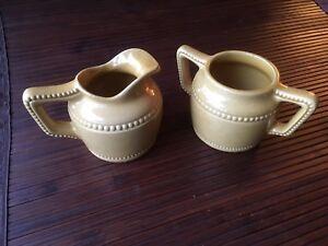 Crémier et sucrier céramique de Beauce