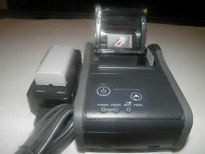 Epson M196b Tm-p60 Bluetooth Mobile Thermal Pos Receipt Printer With Charger