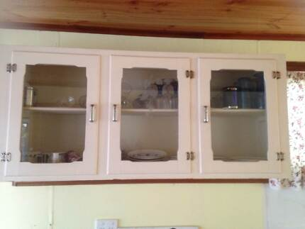 50`s kitchen wall cabinet and small vanity unit Waikerie Loxton Waikerie Preview