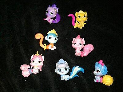 Disney Princess Palace Pets  Mixed PVC Minis Lot of 7 - Palace Pet Toys