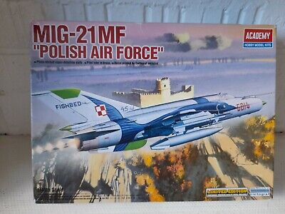 MIG-21MF Polish Air Force Limited Edition 1/48 Scale Model No.12224 Academy