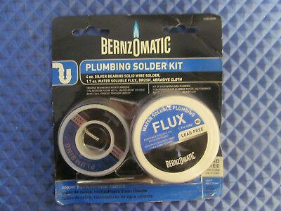New Bernzomatic Plumbing Solder Kit