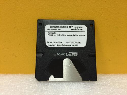 Agilent / HP 86130-10014 Rev: A.03.00.3057 LS-120 Super Disk APP Upgrade. New!