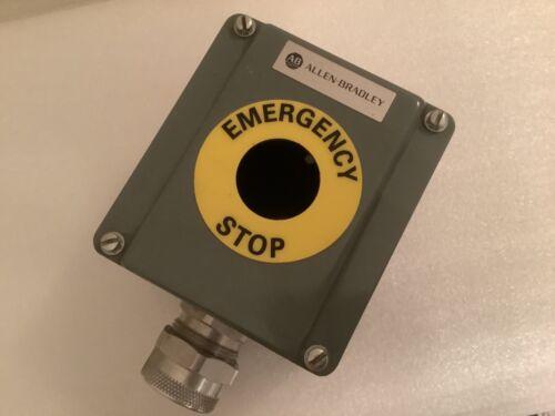 Allen Bradley 800t-1tz Die Cast Push Button Enclosure New No Box