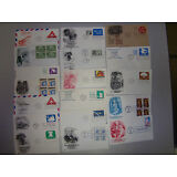 LOT OF 100 US U/A FDC ITEMS - NOW REFRESHED WITH MANY NEW FDC CACHET MAKERS