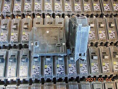 Lot Of 10 Homeline Square D Hom120 20-amp 1-pole Hom 10ka Circuit Breaker 20a