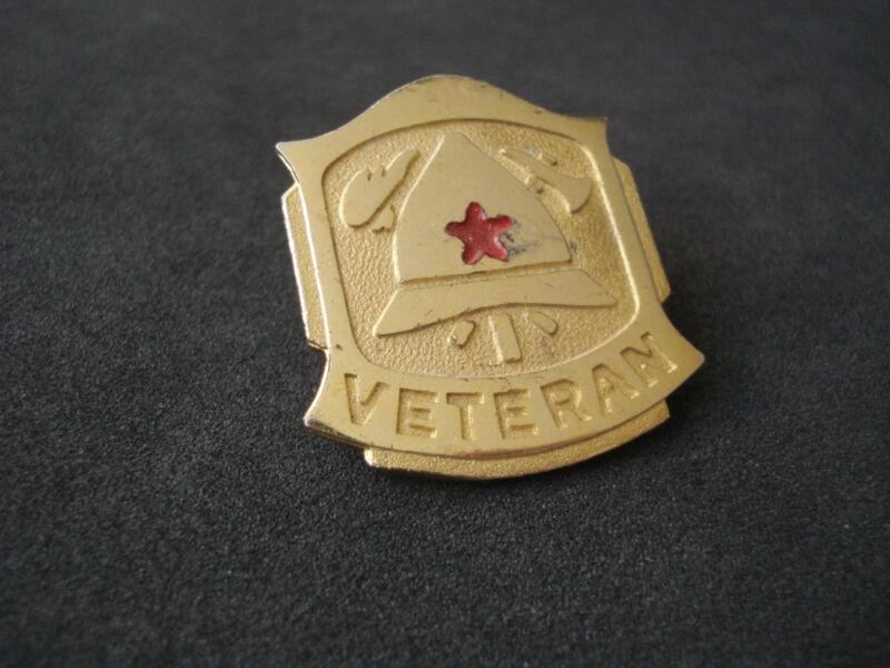 Yugoslavia, Croatia, Firefighters Veteran badge; fireman, Zagreb