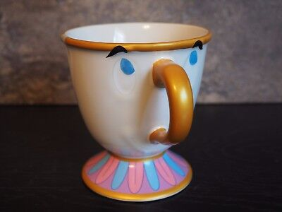 Disney Beauty And The Beast Chip Ceramic Mug New