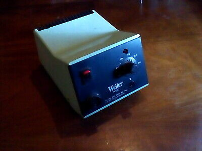 Weller Ws80 Soldering Station 80w 120v Case In Poor Cond. 100 Working No Iron