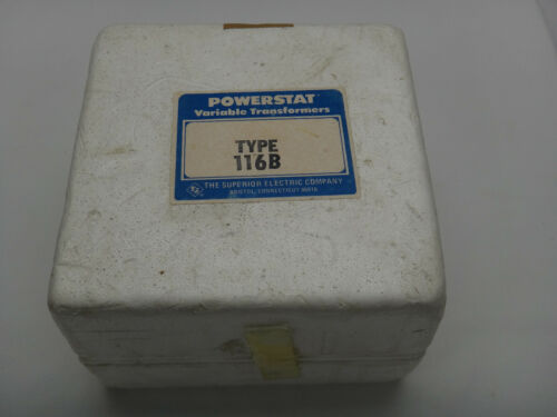 NEW - Superior Electric Powerstat 3PN116B Variable Autotransformer