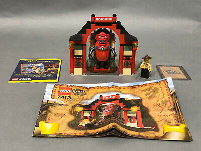 LEGO 7413 Orient Expedition Passage of Jun-Chi - Parts complete with manual