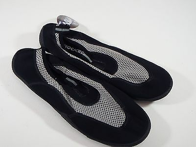 New Shocked Aqua Shoes  Black Gray Mens Water Shoes Size 9  Med