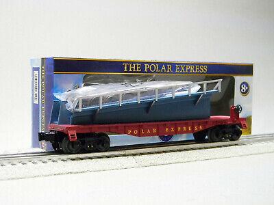 LIONEL O GAUGE THE POLAR EXPRESS HOT CHOCOLATE BARREL RAMP CAR train 1928430 NEW
