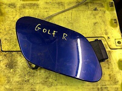 Genuine Volkswagen Golf Mk7 R 7 75 Fuel Flap Fuel Cap In Blue Gtd Gti