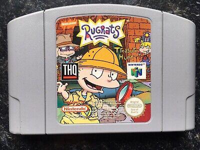 Rugrats Treasure Hunt Nintendo 64 N64 Game PAL Cart Only