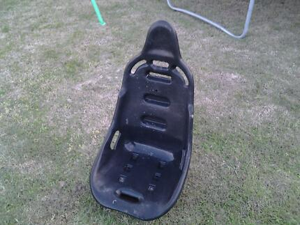 Drag, rally, buggy, go kart plastic race seat. never used. Oak Flats Shellharbour Area Preview
