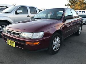 1998 Toyota Corolla automatic Sedan Sandgate Newcastle Area Preview