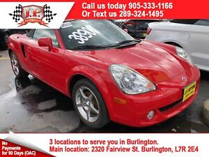 2003 Toyota MR2 Spyder Convertable, Leather, Convertible, Only 7