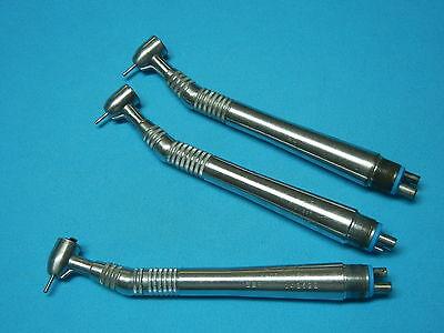 Midwest Quiet Air Lever Standard Dental Handpiece Set Of 3 3 Month Warranty