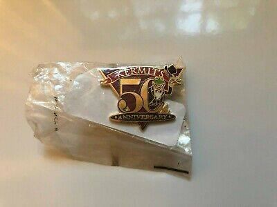 Kermit The Frog - 50th Anniversary Disney Muppets Pin NEW