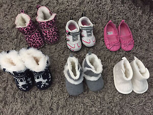 Brand new Baby/toddler size 3 shoes and boots