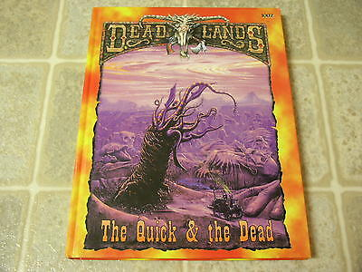 Pinnacle Entertainment Deadlands The Quick   The Dead Hardcover Rulebook