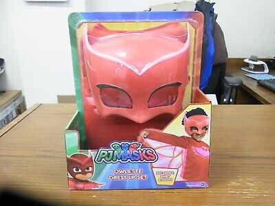 Pj Masks Owlette Dress Up Set Girl Size 4-6x NEW IN PACKAGE](Dress Up Pajamas)
