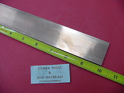 18x 1-12 C110 Copper Bar 10 Long Solid Flat Mill Bus Bar Stock H02