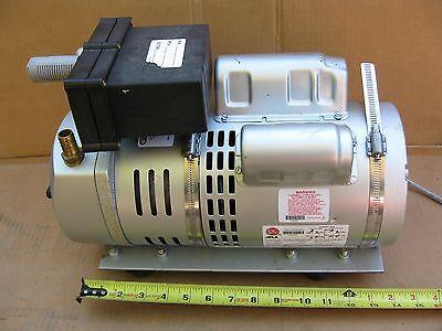 Gast 1023-318q-g274ax Rotary Vane Vacuum Pump Compressor 12hp 1ph 115208-230v