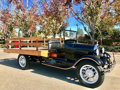 1928 Ford Model A Ford AA 1928 Ford Model A Rare AA Pickup Chassis Barn Find At No Reserve