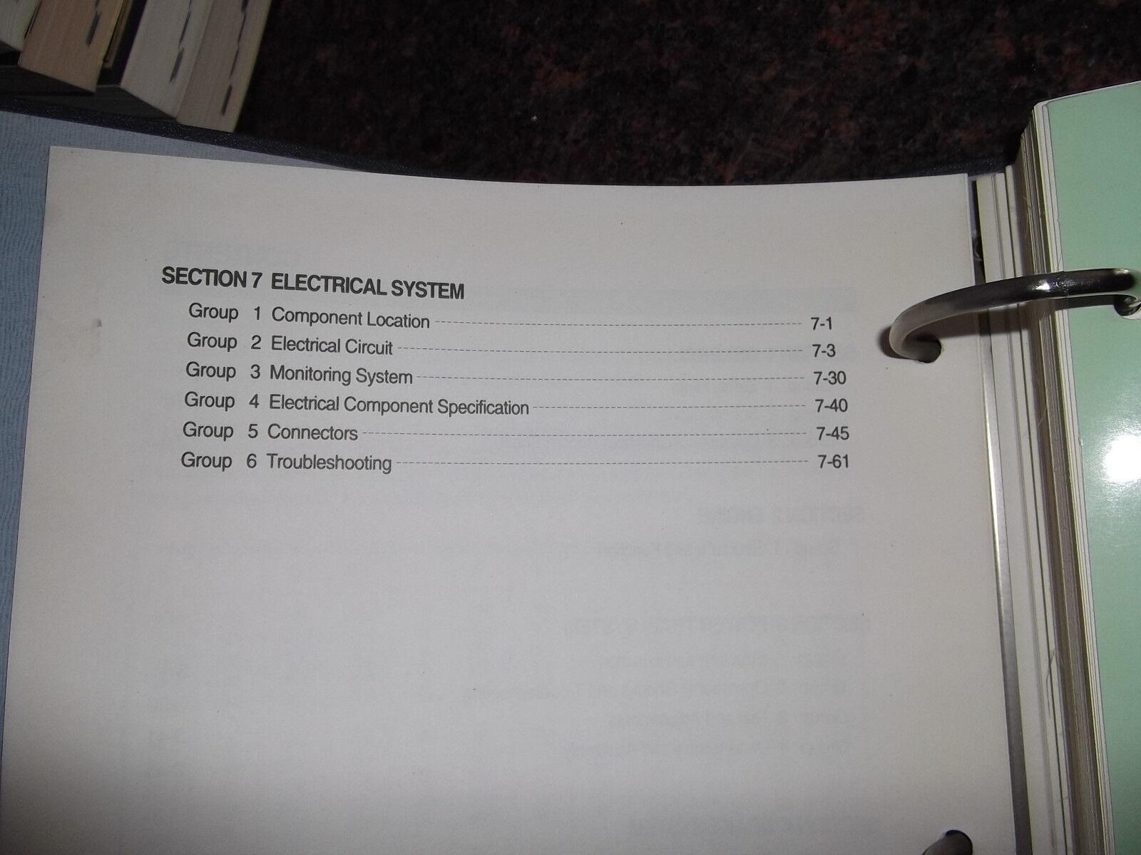 3 of 4 Hyundai Hl770 Wheel Loader Service Repair Shop Workshop Manual Book  Catalog