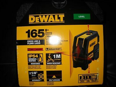 New Dewalt Dw0822 Laser Self Leveling Cross Line 165 Range Kit 2667285