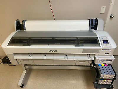 Epson Surecolor F6070 44-inch Sublimation Printer With Stand Refillable Tanks