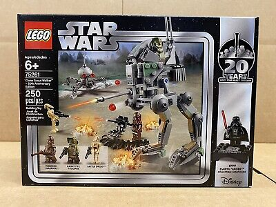 LEGO Star Wars - 75261 - Clone Scout Walker 20th Anniversary Edition - NEW