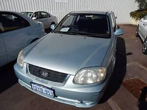 2005 Hyundai Accent Hatchback Victoria Park Victoria Park Area Preview