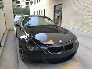 BMW M6 excellent condition and a rare find