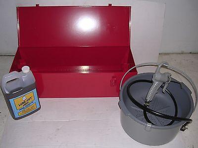 Toolbox Metalcase Bucket Oiler 612r Diehead 12-2 Ridgid Threader Pipe Wrenches