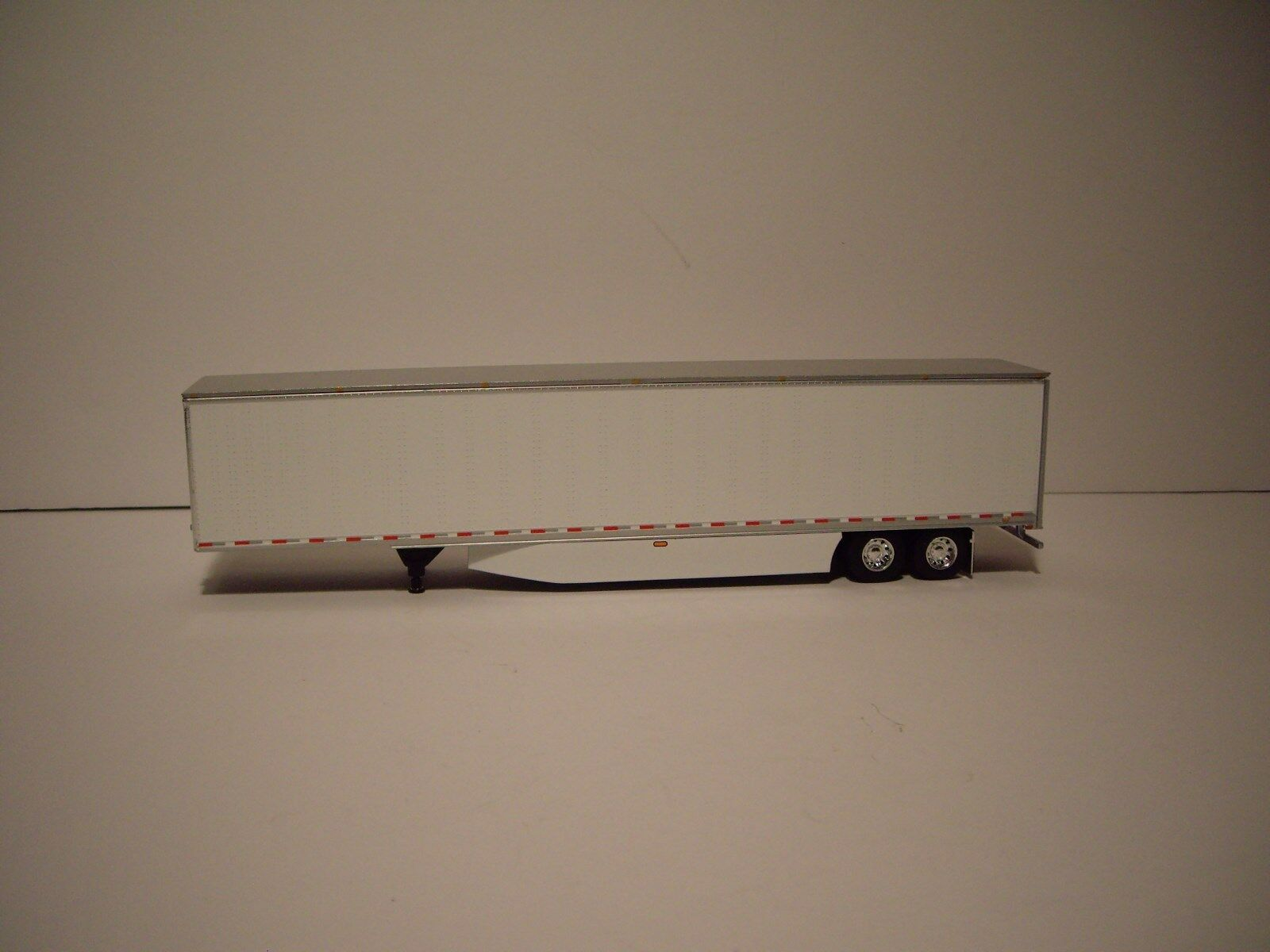 DCP 1/64 RED AND BLACK WESTERN STAR 5700XE W/T 68'' SLEEPER AND DRY VAN TRAILER 5