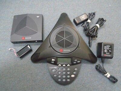 Polycom Soundstation 2w 2201-07880-001 Wdct 2.4 Ghz Wireless Conference Phone