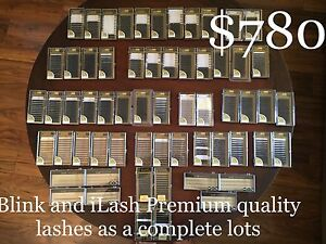 Eyelash extension Supplies - trays (product)
