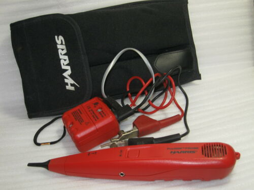 Harris Pro3000 Probe and Tone Generator Test Kit with Case