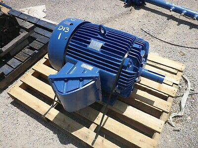 75 Hp Teco - Westinghouse Ac Electric Motor Fr. 365t Expl. Pr. 1760 Rpm