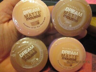 Maybelline dream matte mouse 4 shade to choose from all new](Mouse Face Makeup)