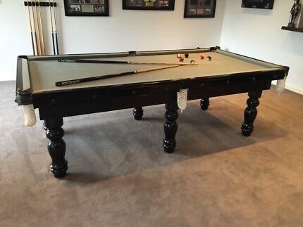 Billiard pool table slate black 8 x4 Ringwood North Maroondah Area Preview