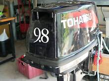9.8 Extra long shaft Tohatsu outboard motor Jimboomba Logan Area Preview