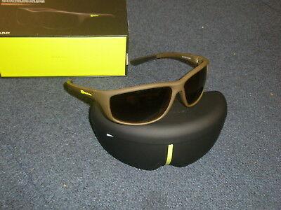 Ridge Monkey Pola-Flex Polaroid Sunglasses Brown Frame, Dark Bronze Lens