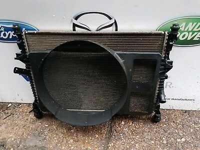 FORD TRANSIT MK7 RWD WATER RADIATOR AND COWLING 2006-2013